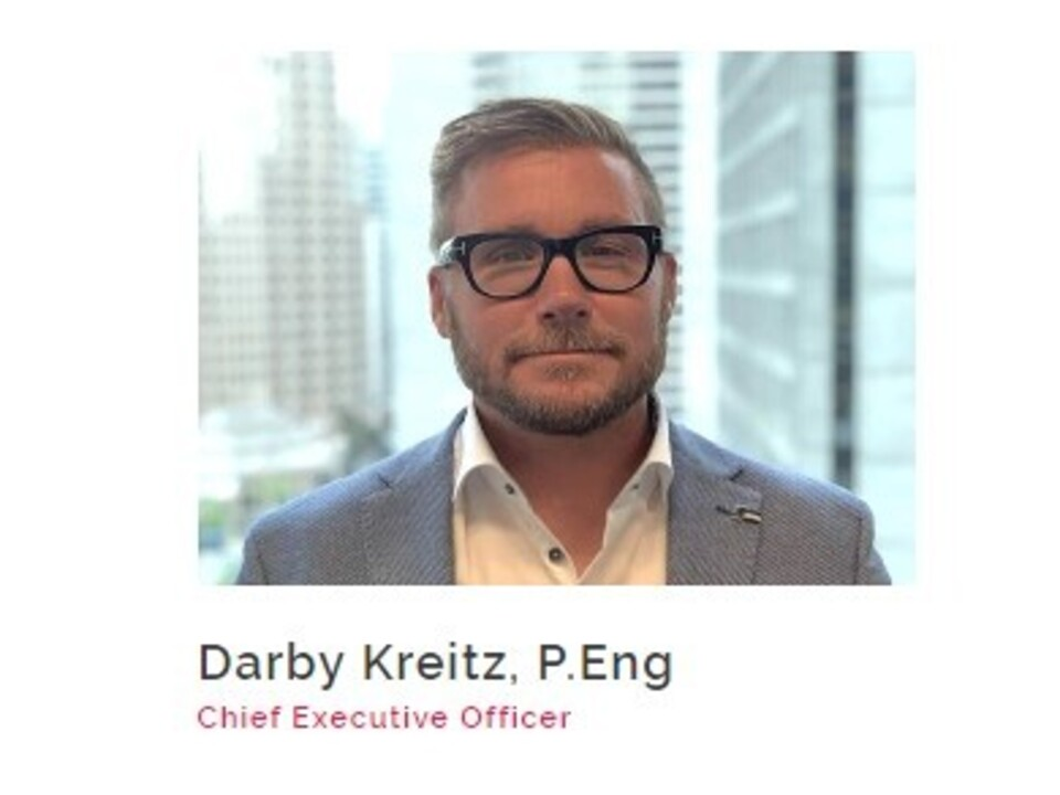 Darby Kreitz, CEO of Allnorth – Winner of Ernst & Young's Entrepreneur of the Year – Pacific Region, Business to Business Services Category