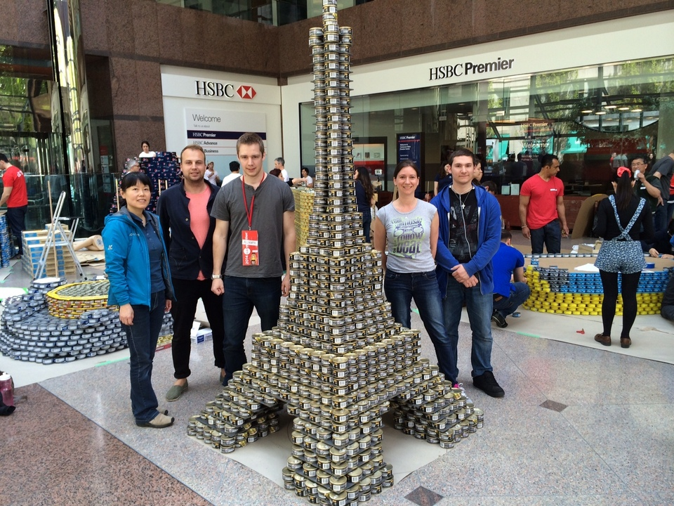 Allnorth Wins 2014 Canstruction National Structural Ingenuity Award