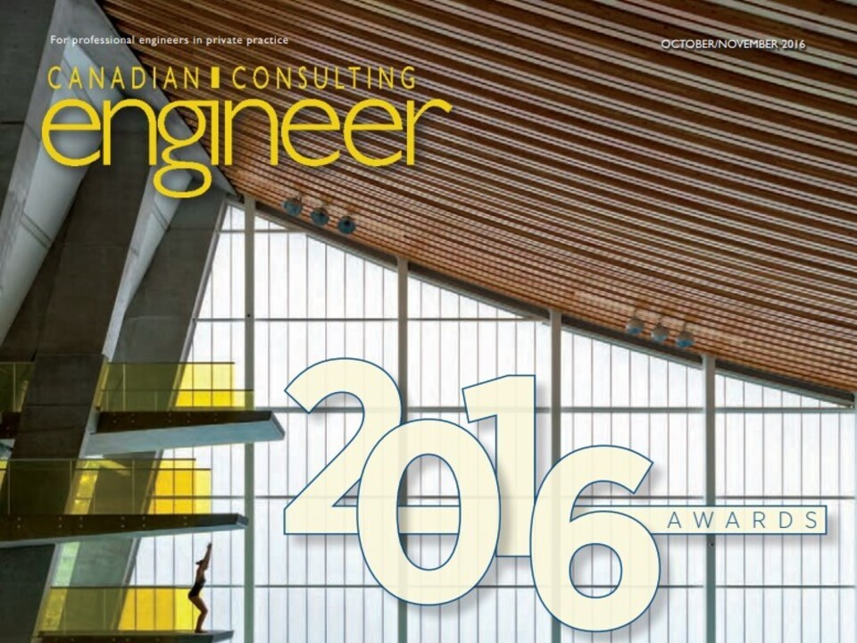 Allnorth Wins Award of Excellence at 2016 Canadian Consulting Engineering Awards