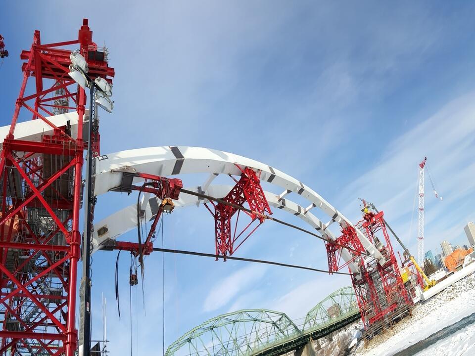 Walterdale Bridge Opens in Edmonton