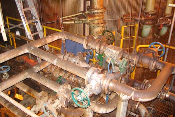 Condensate System Upgrade