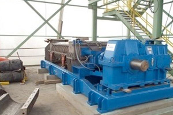 Sludge Press Dewatering System