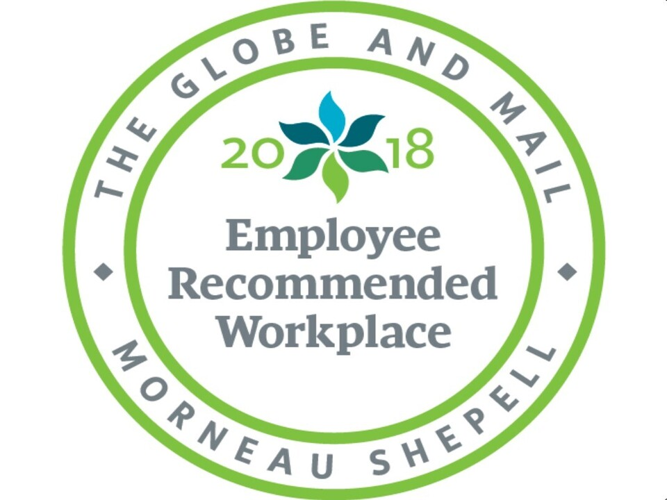 Allnorth recognized as Employee-Recommended Workplace for 2018