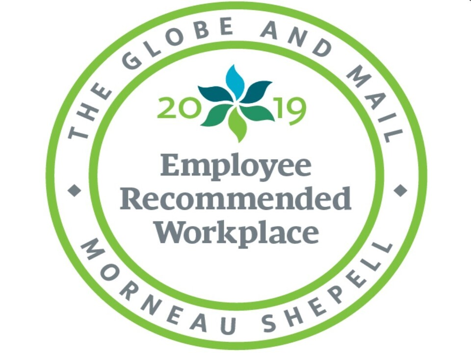 Allnorth recognized as an Employee Recommended Workplace for 2019
