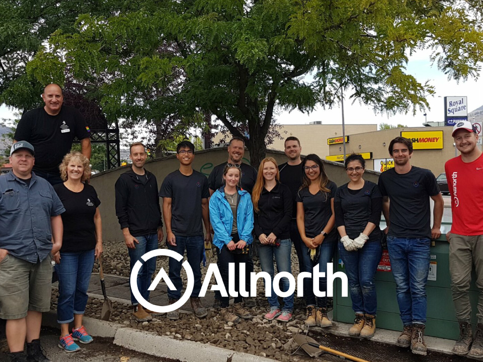 Allnorth Kamloops Rocks for United Way's Day of Caring®