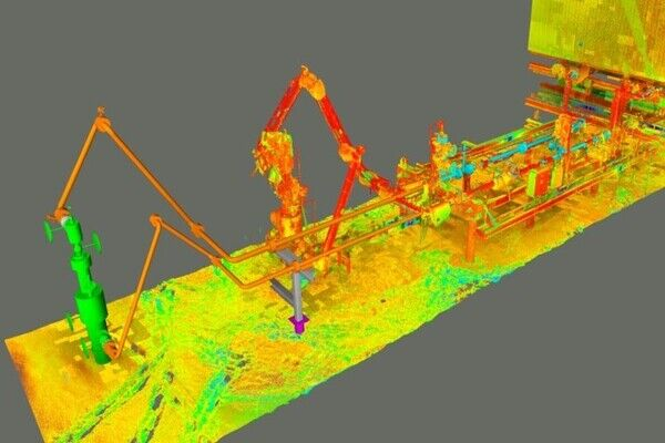 3D Scanning and Design – Cenovus Well Step-Out Program