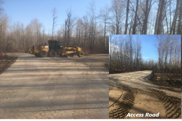 Design and Construction Services for the Moody's Crossing Campground, Greenview, Alberta