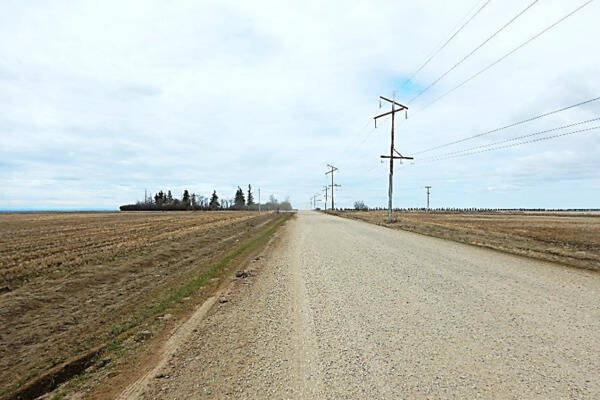Local Road Grading and Other Work,  Township Road 712, County of Grande Prairie, AB