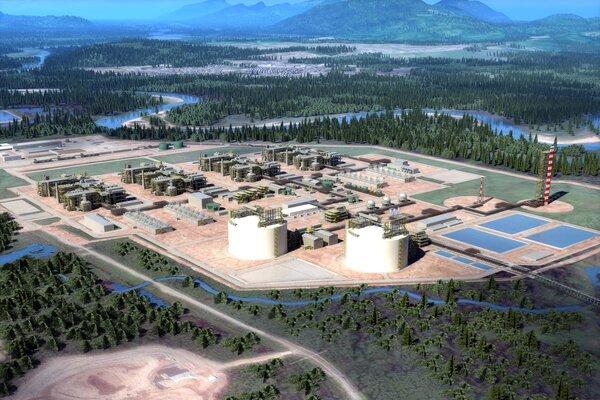 LNG Canada Project