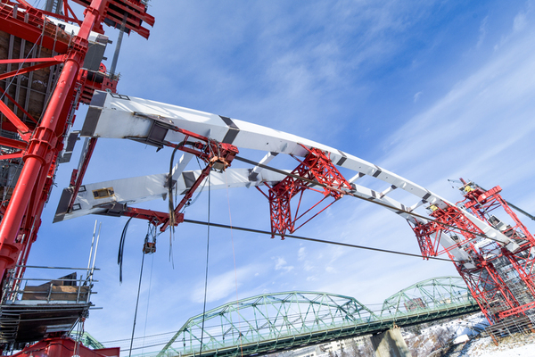 Walterdale Bridge Erection Engineering Services