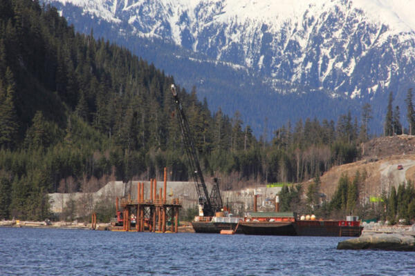 Engineering and Field Services for a Work Trestle at the LNG Facility, Kitimat, BC