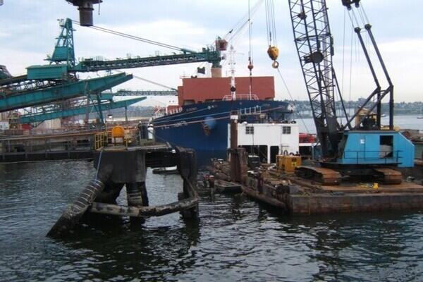 Neptune Terminals – Berth One Structural Repairs