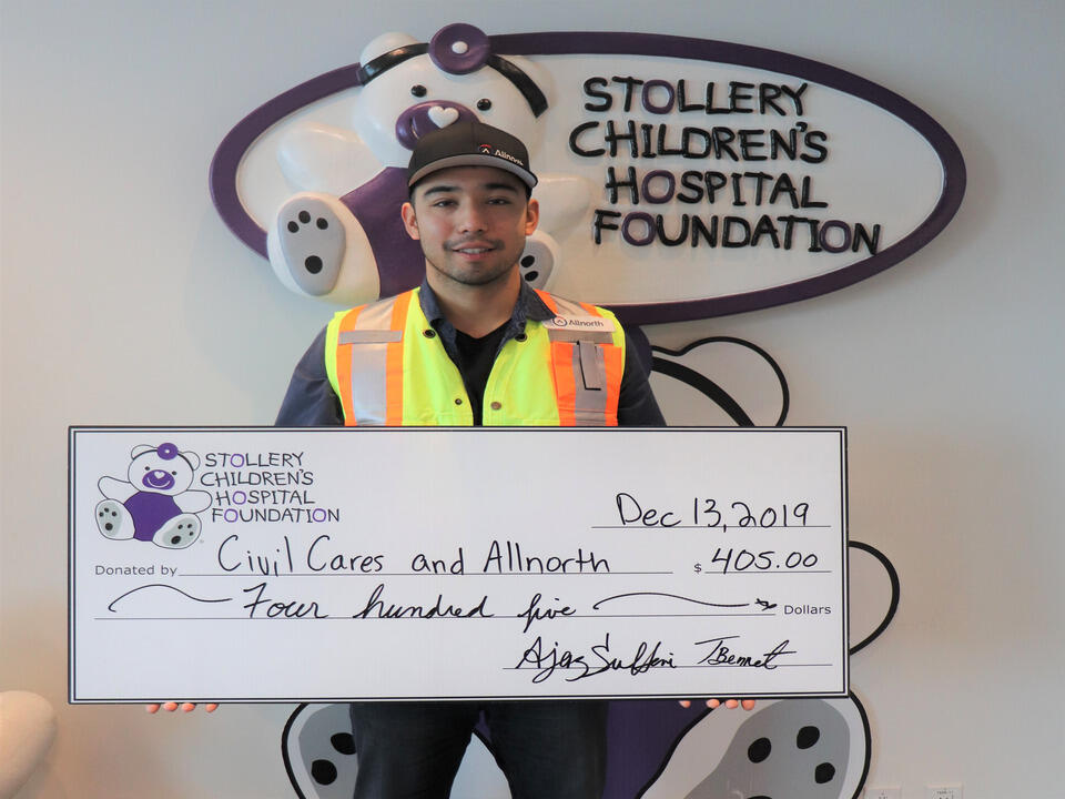 Allnorth Edmonton raises funds for The Stollery Children's Hospital