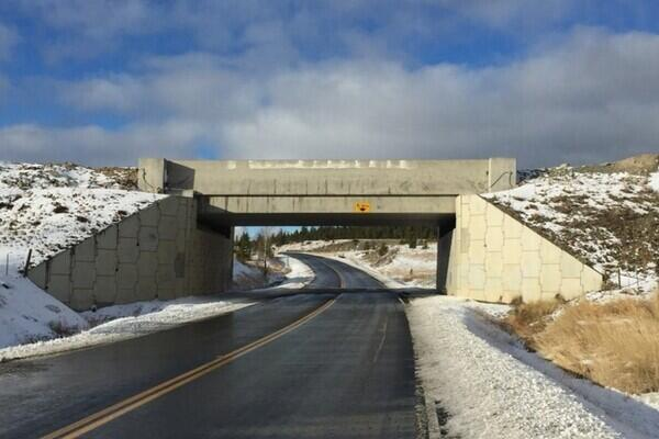Highway 97 Overpass – Highland Valley Copper