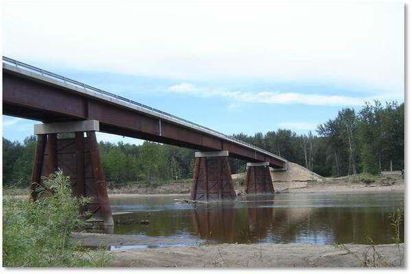 Wapiti River Bridge