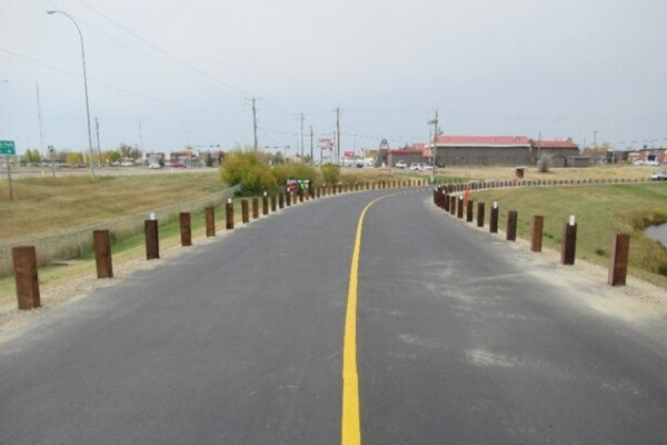 Strathmore Centre Street Upgrade & Guard Rail