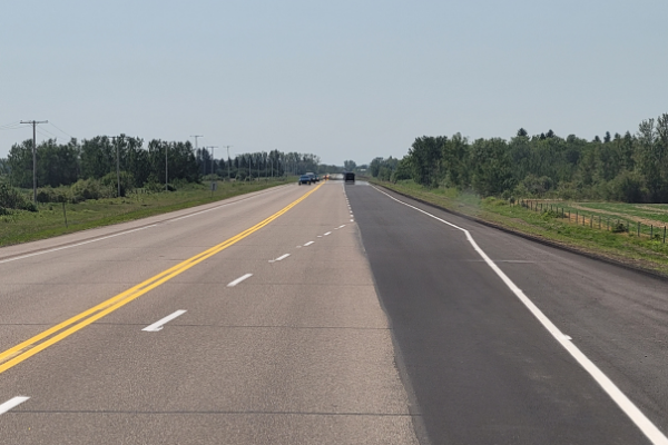 Highway No. 2-20 Passing Lanes Construction Administration